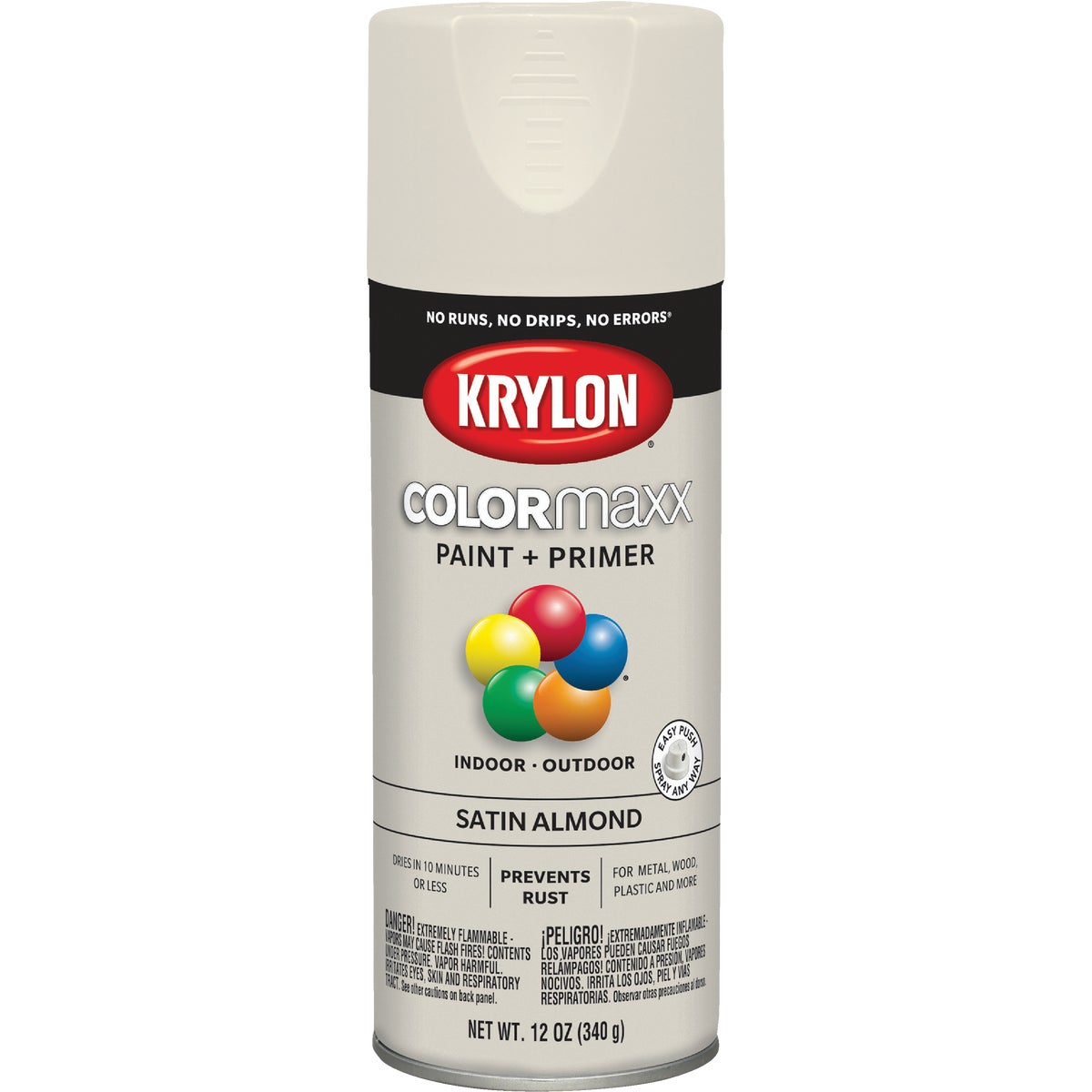 SATIN ALMOND SPRAY PAINT - 53511 by Krylon/consumer Div