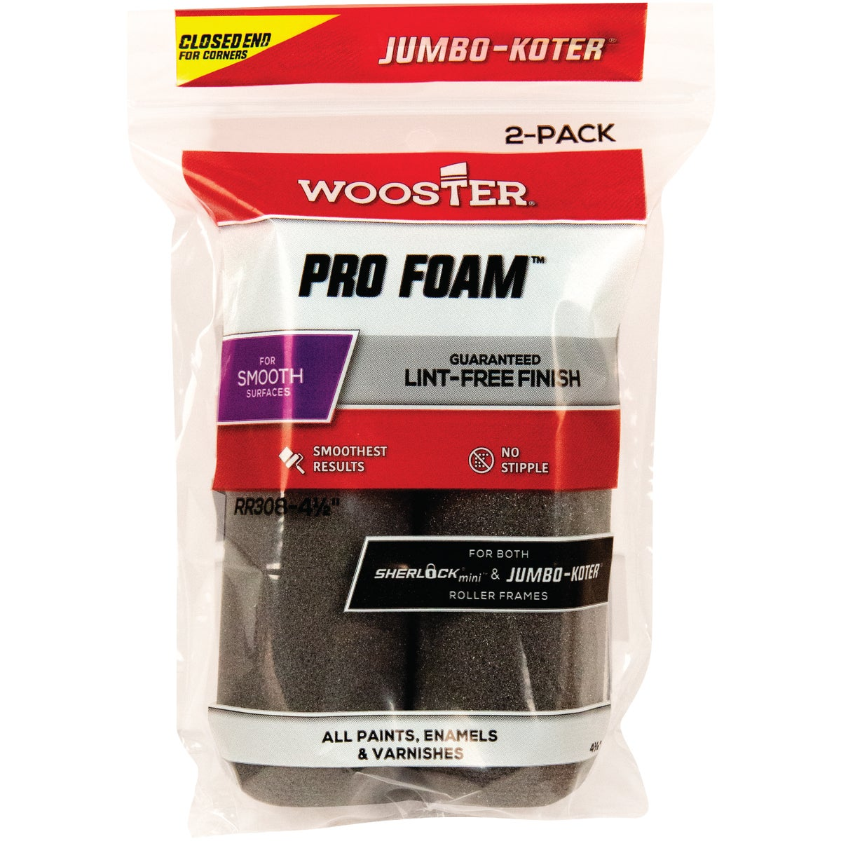 "4-1/2"" FOAM COVER - RR308-4-1/2"" by Wooster Brush Co"