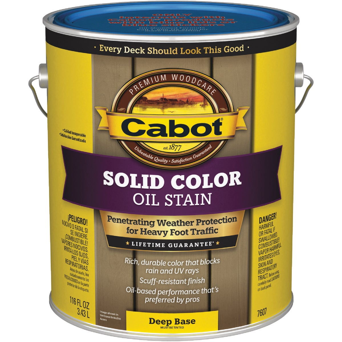 DEEP BS SOLID DECK STAIN - 140.0007607.007 by Valspar Corp