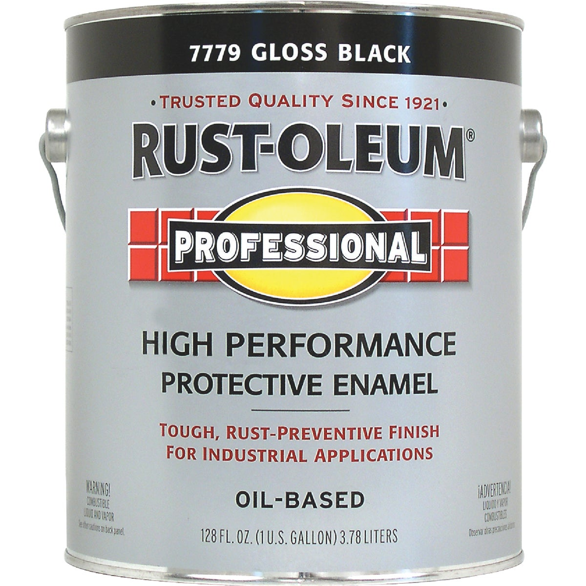 VOC BLACK PRO ENAMEL - K7779 by Rustoleum