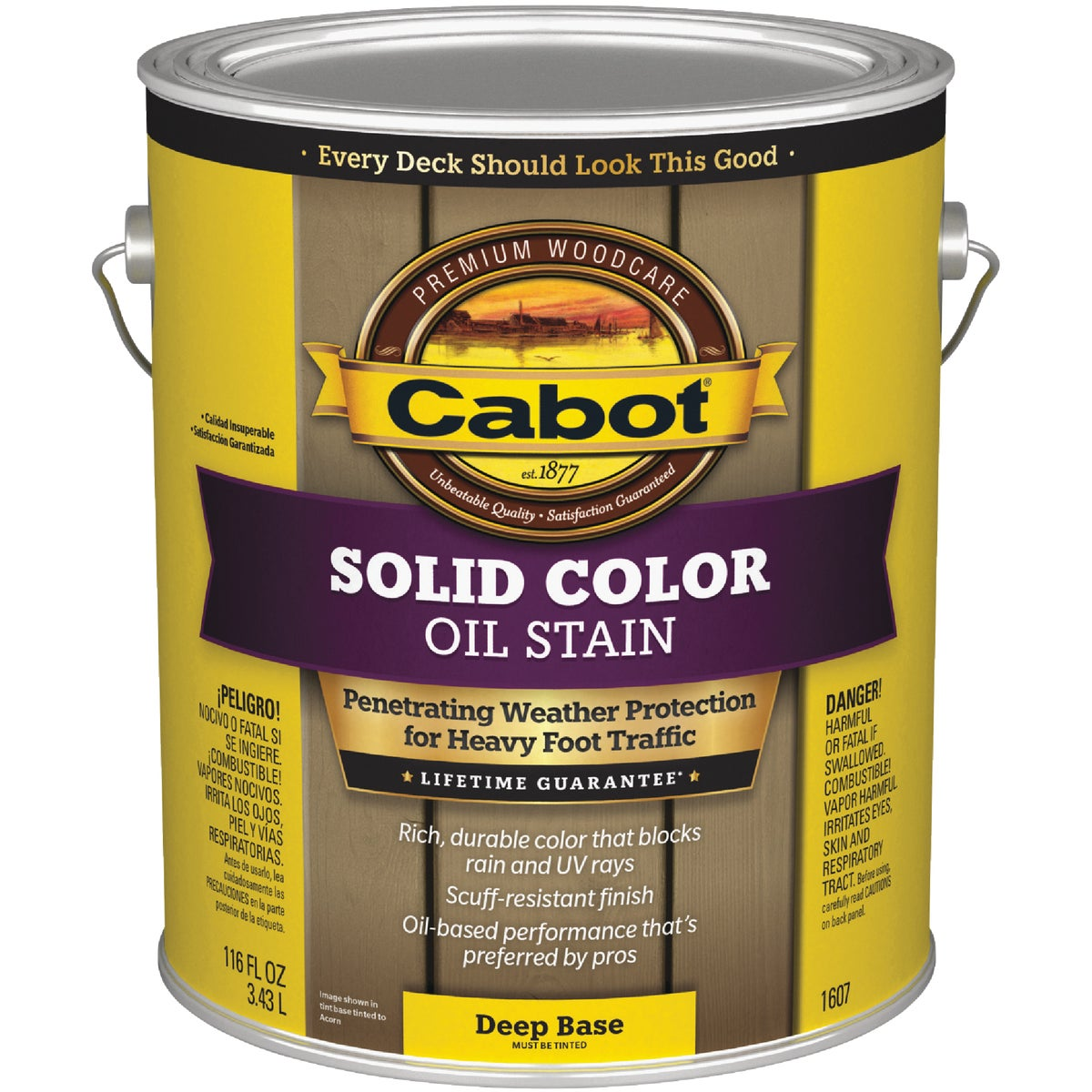 DEEP BS SOLID DECK STAIN - 140.0001607.007 by Valspar Corp