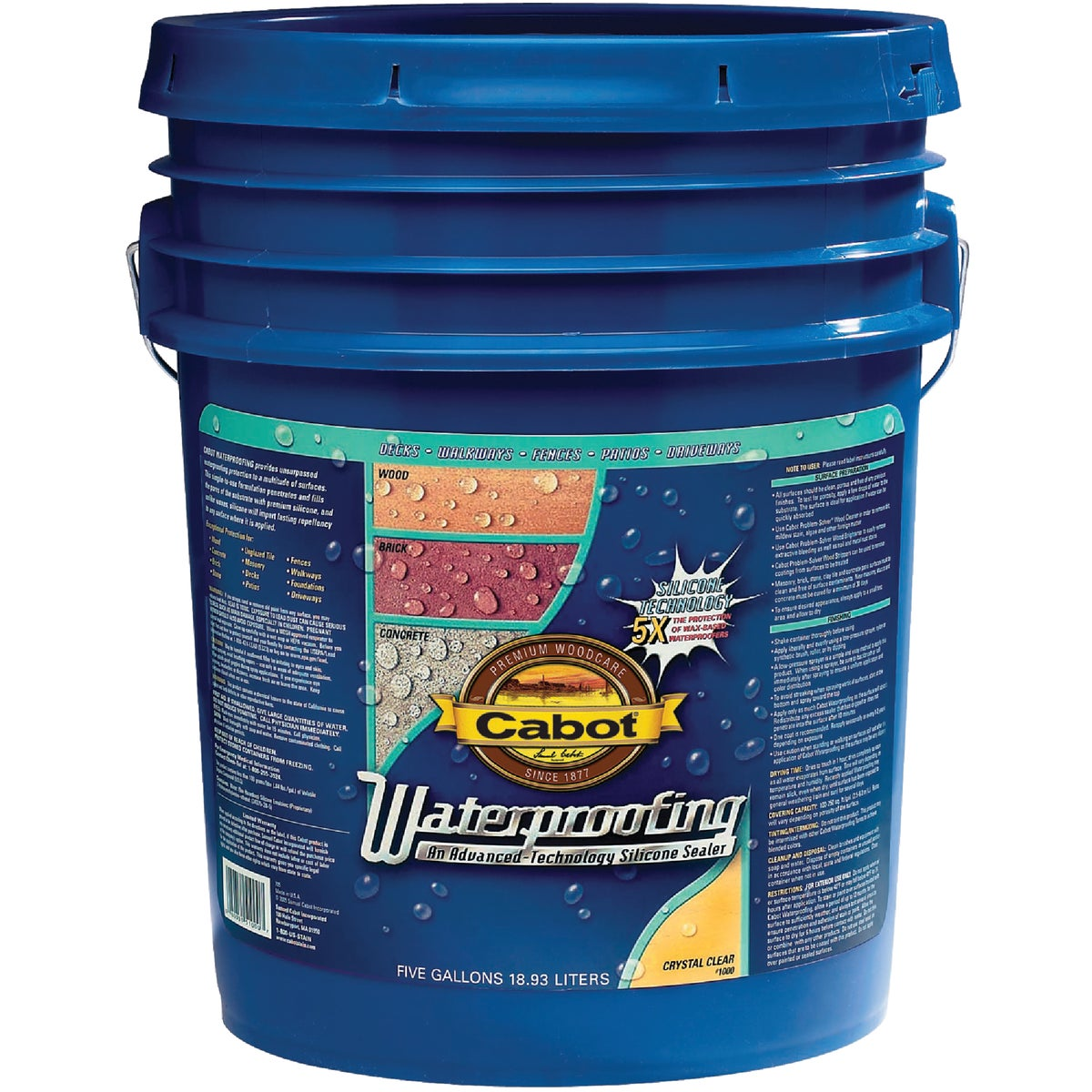CLEAR WATERPROOFING