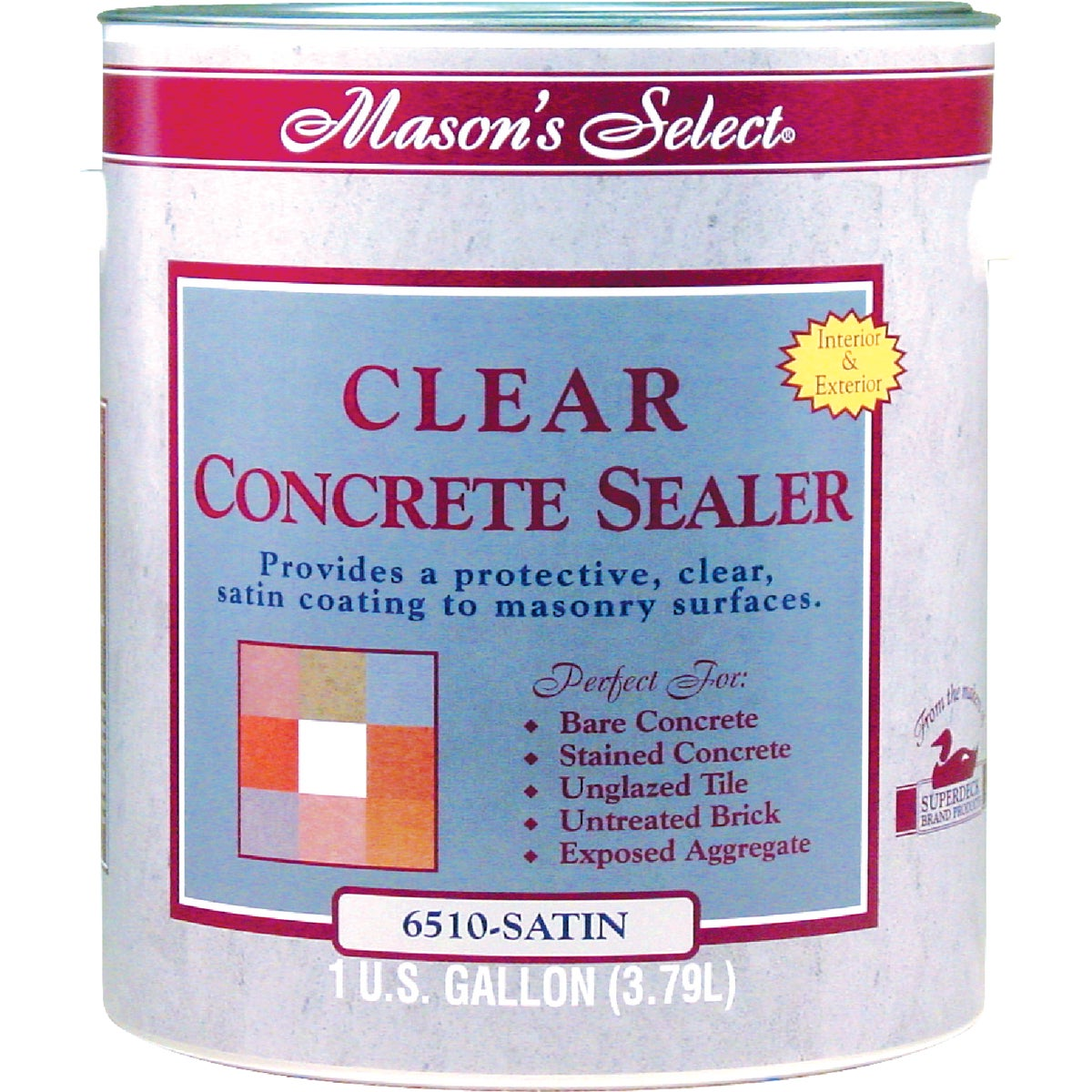 VOC CLEAR SATIN SEALER - DP-6510-4 by Duckback Prod