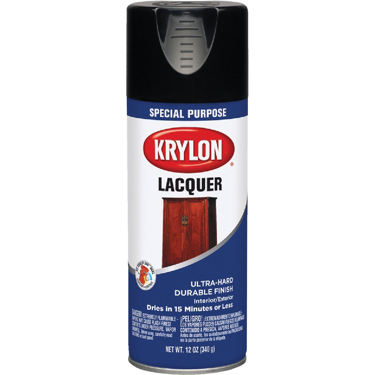GLS BLACK SPRAY LACQUER - 7030 by Krylon/consumer Div