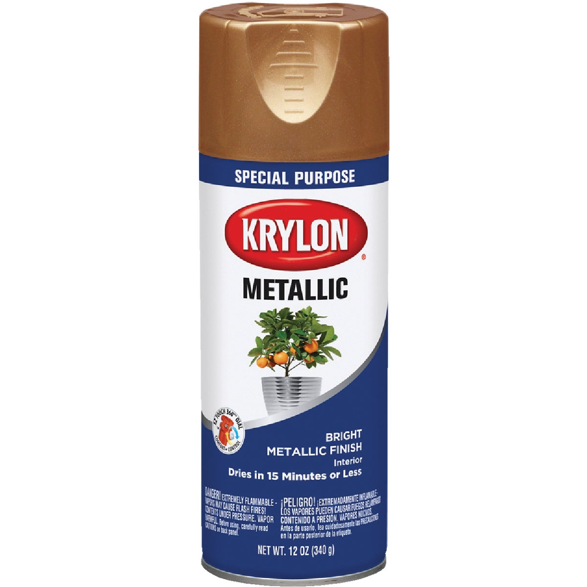 COPPER METLC SPRAY PAINT - 1709 by Krylon/consumer Div