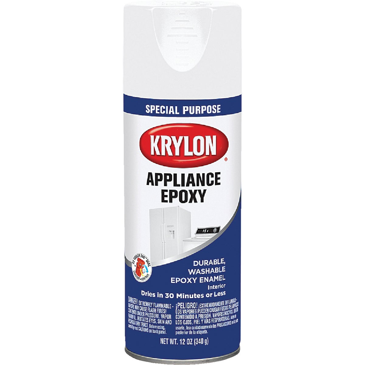 WHT APPLIANC SPRAY EPOXY - 3201 by Krylon/consumer Div