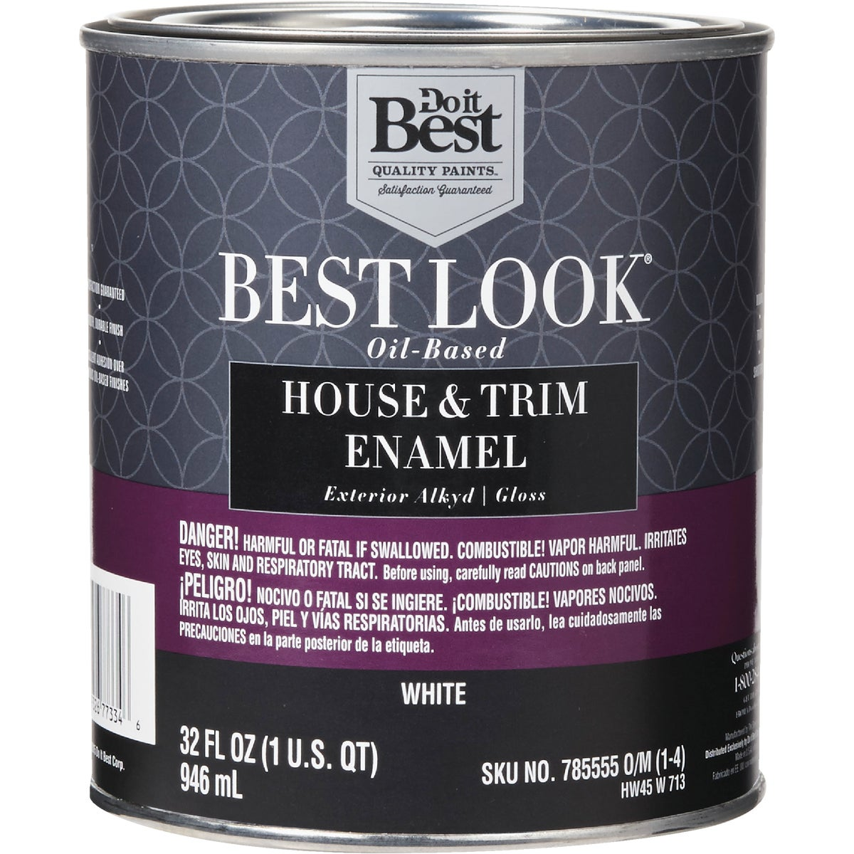 EXT GLOSS WHITE PAINT - HW45W0713-44 by Do it Best