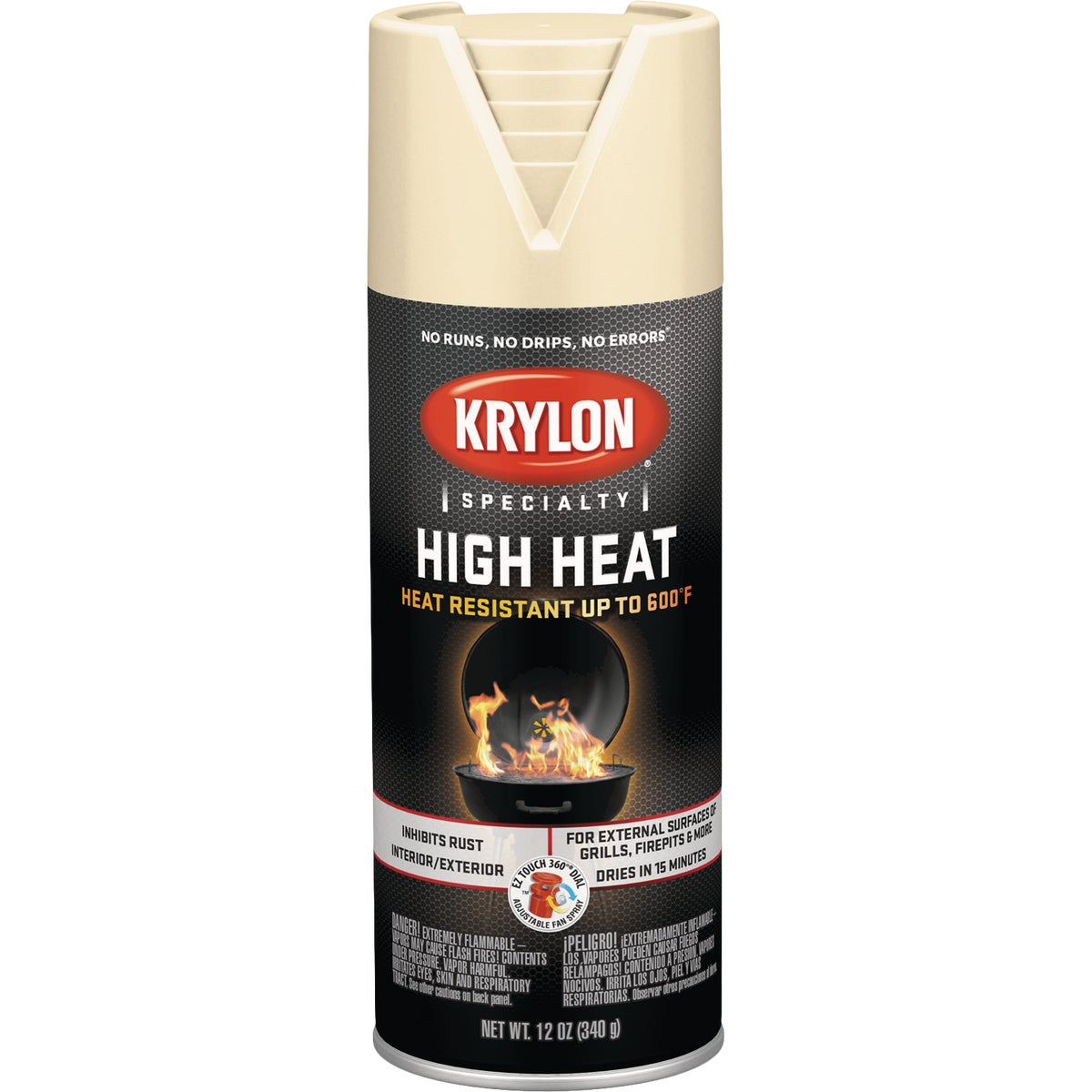 BEIGE HEAT SPRAY PAINT - K01408000 by Krylon/consumer Div