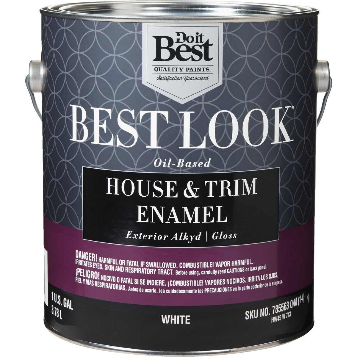 EXT GLOSS WHITE PAINT - HW45W0713-16 by Do it Best