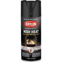 Krylon/Consumer Div FLAT BLK BBQ SPRAY PAINT 1618