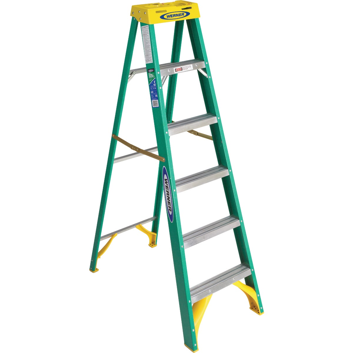 T-2 6' FBGL STEPLADDER - 5906 by Werner Co