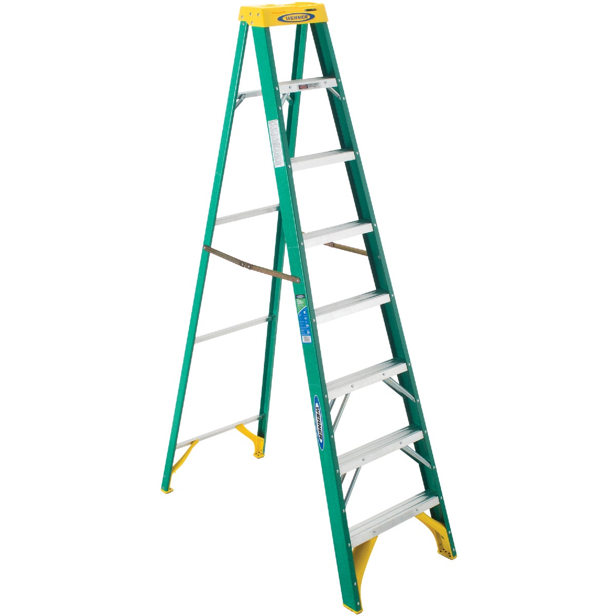 T-2 8' FBGL STEPLADDER - 5908 by Werner Co