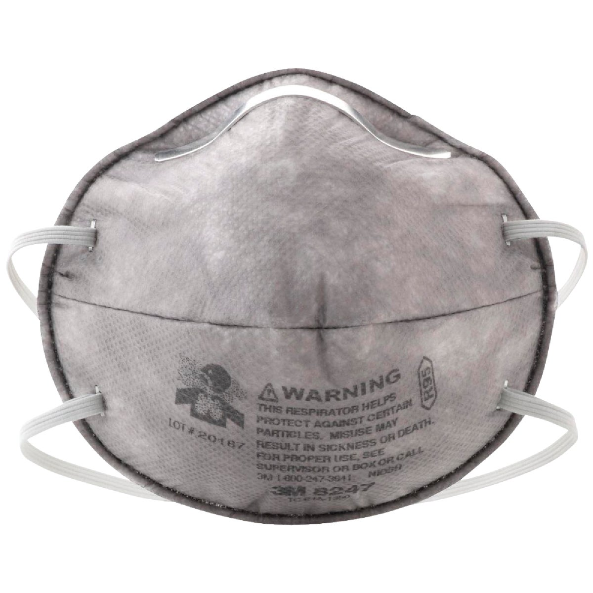 PAINT & ODOR RESPIRATOR - 8247PA1-A by 3m Co