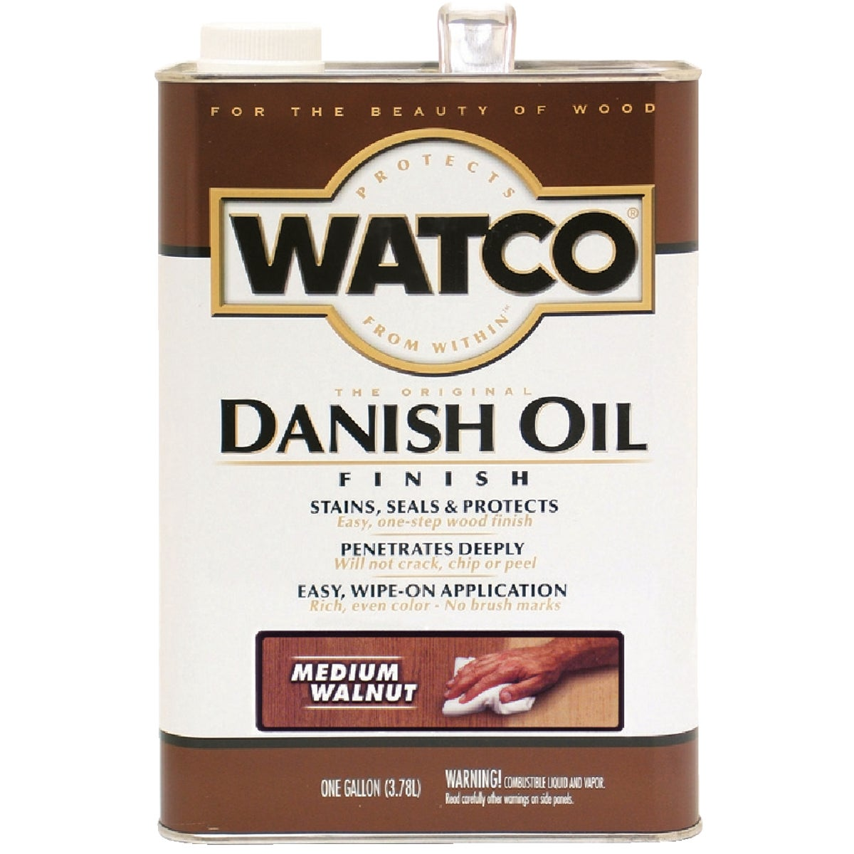 MEDIUM WALNUT DANISH OIL - 65931 by Rustoleum