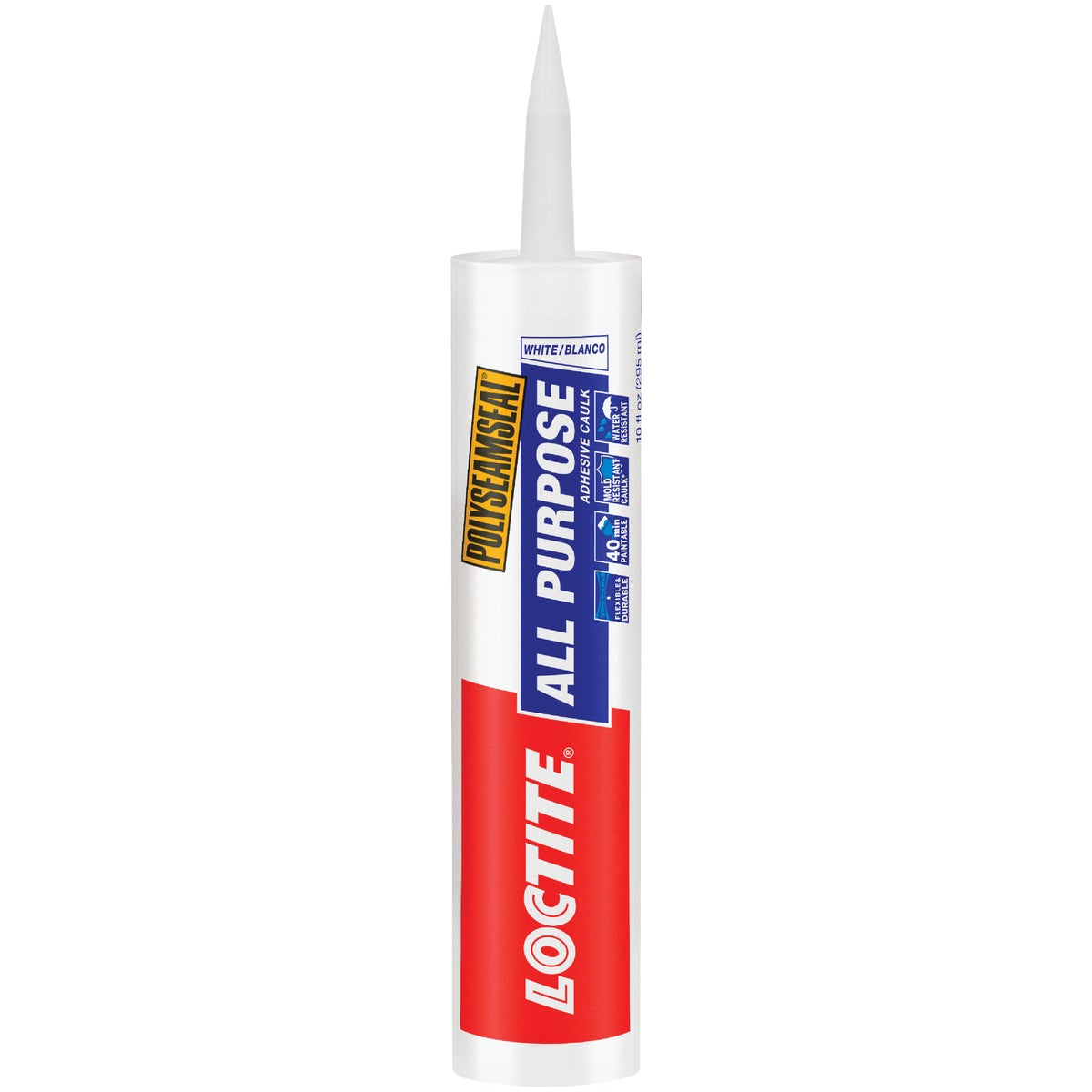 10OZ WHT ALL-PURP CAULK - 1700039 by Henkel Corporation