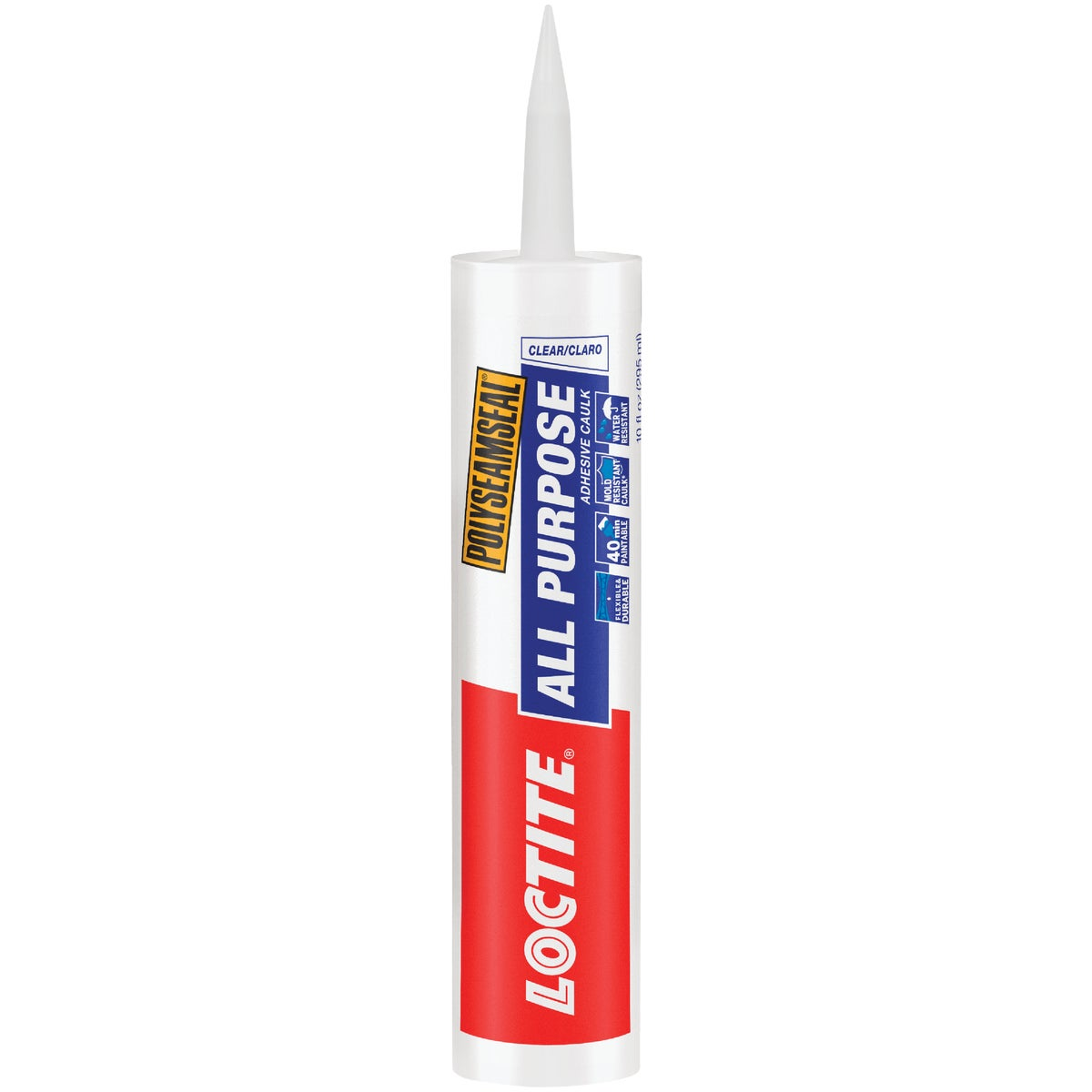 10OZ CLR ADHESIVE CAULK - 1700176 by Henkel Corporation