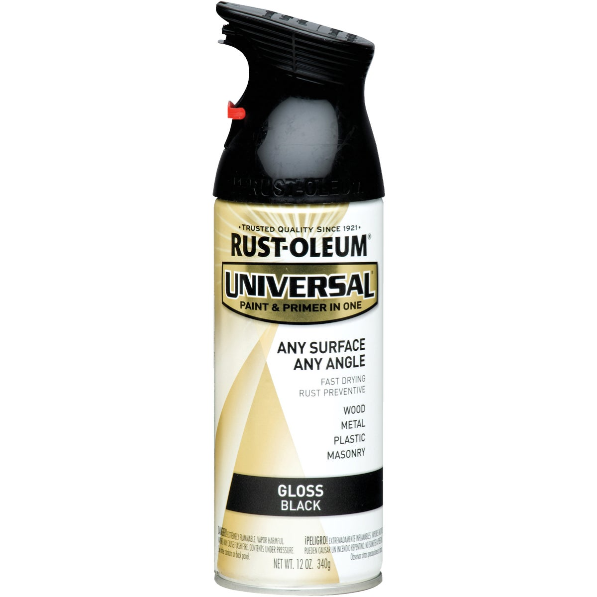 GLS BLK UNIV SPRAY PAINT - 245196 by Rustoleum