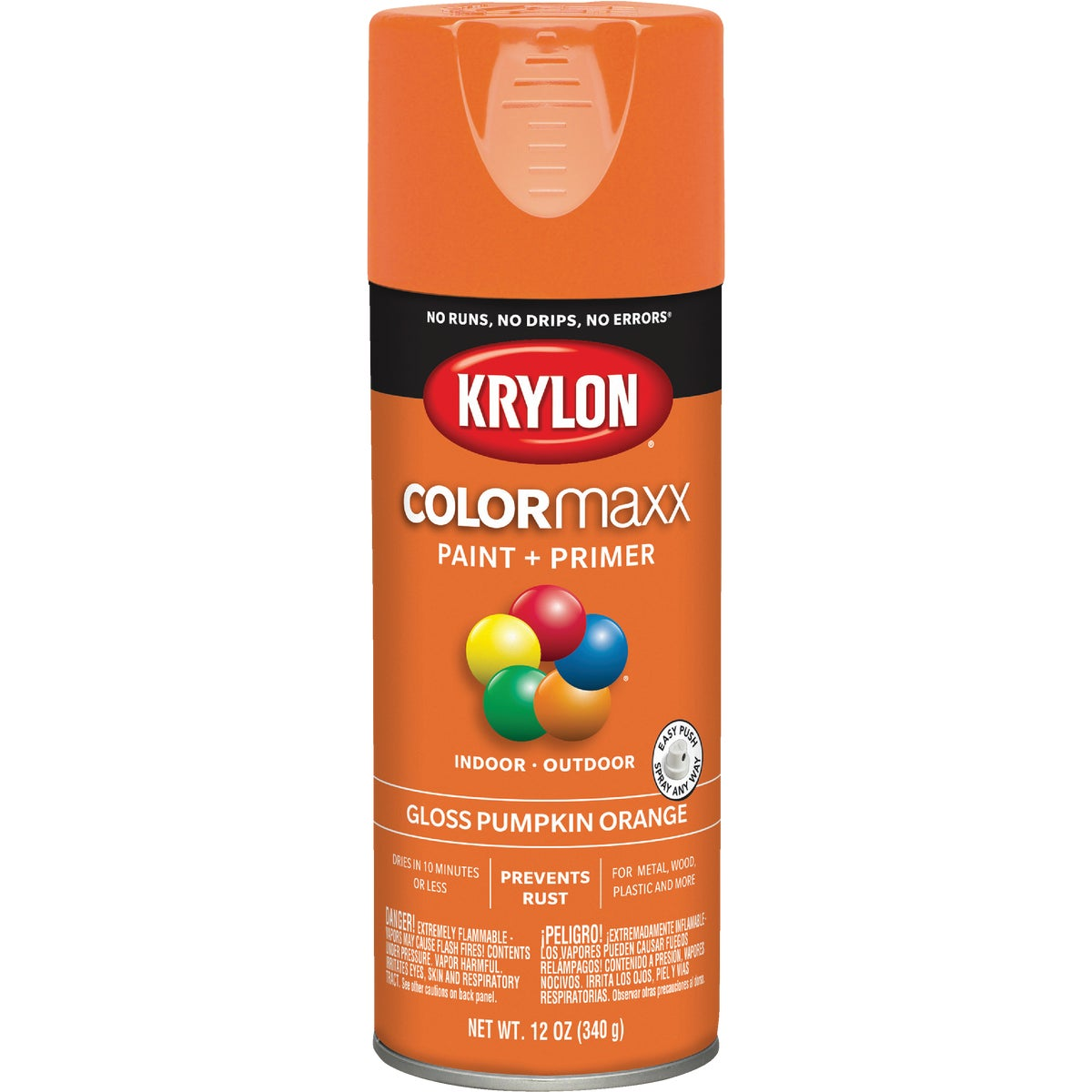 GLS PUMPKIN SPRAY PAINT - 52411 by Krylon/consumer Div