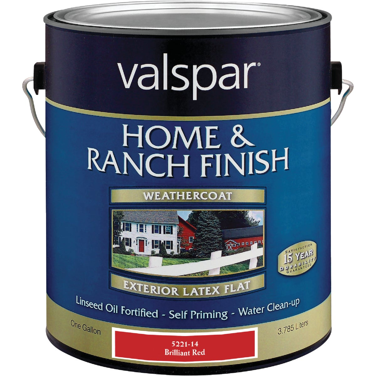LTX BRLNT RED BARN PAINT - 018.5221-14.007 by Valspar Corp