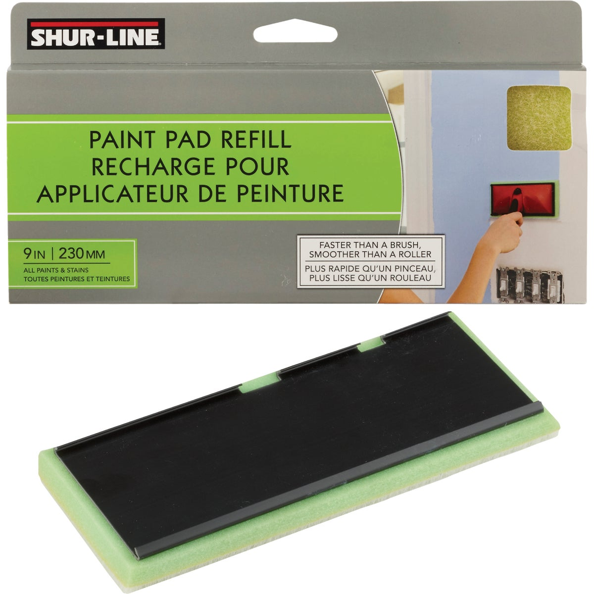 "9"" REPLACEMENT PAD - 00630C by Shur Line"