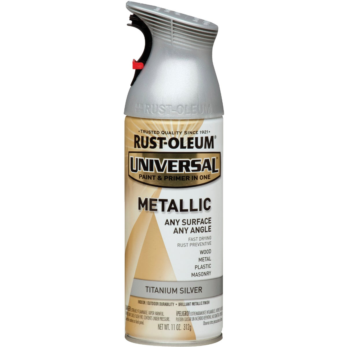 MTL SLV UNIV SPRAY PAINT - 245220 by Rustoleum