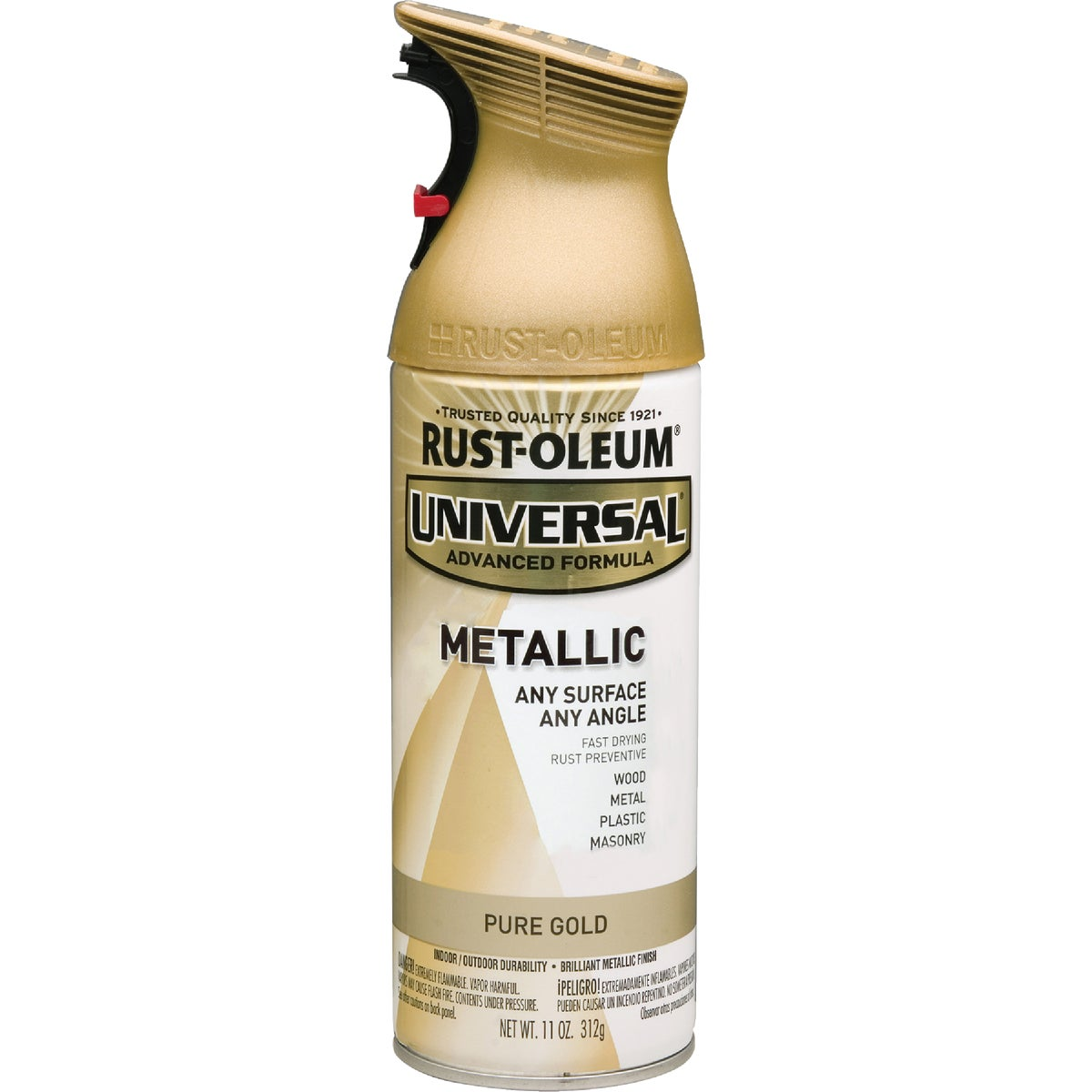MTL GLD UNIV SPRAY PAINT - 245221 by Rustoleum