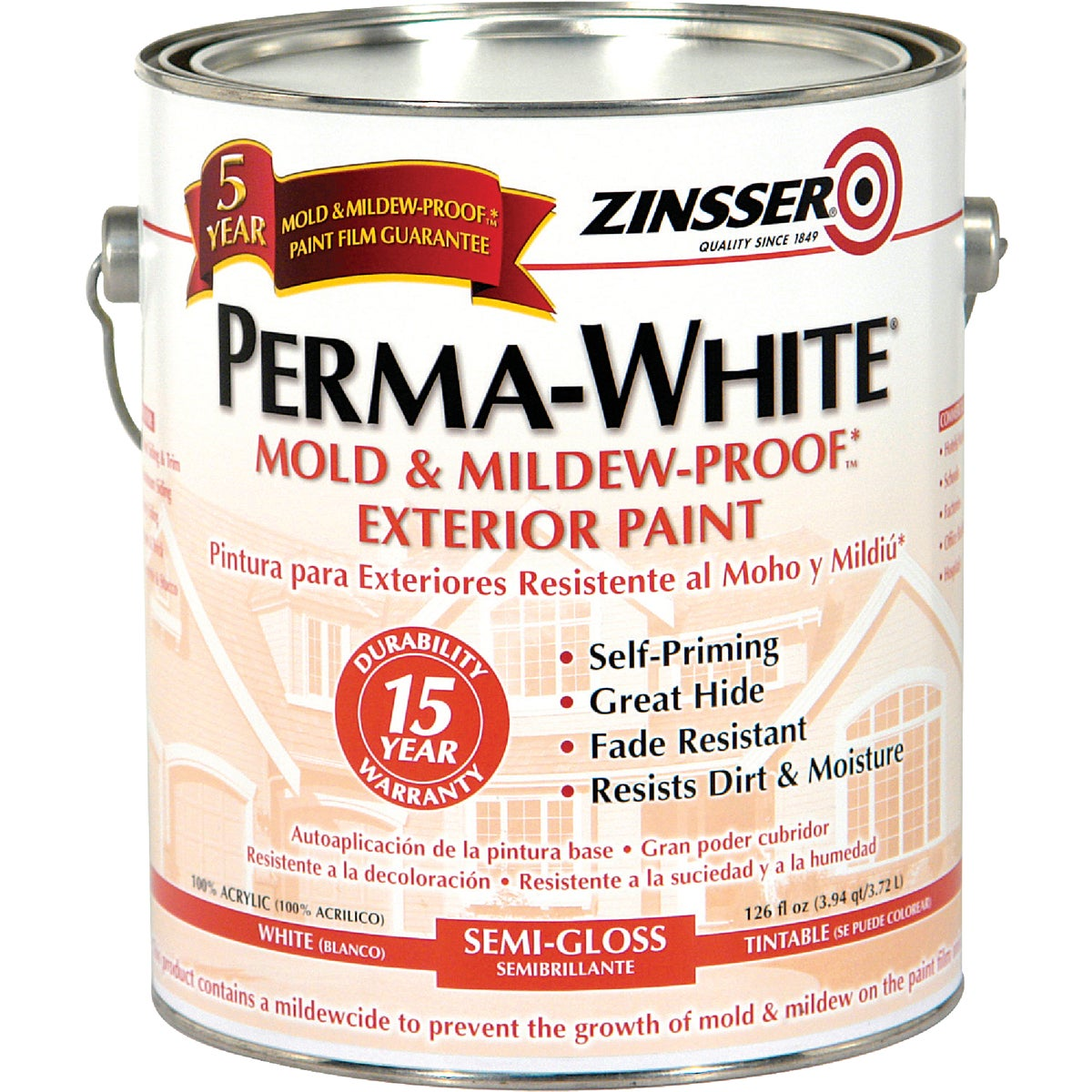 EXT S/G WHT MILDEW PAINT - 3131 by Rustoleum
