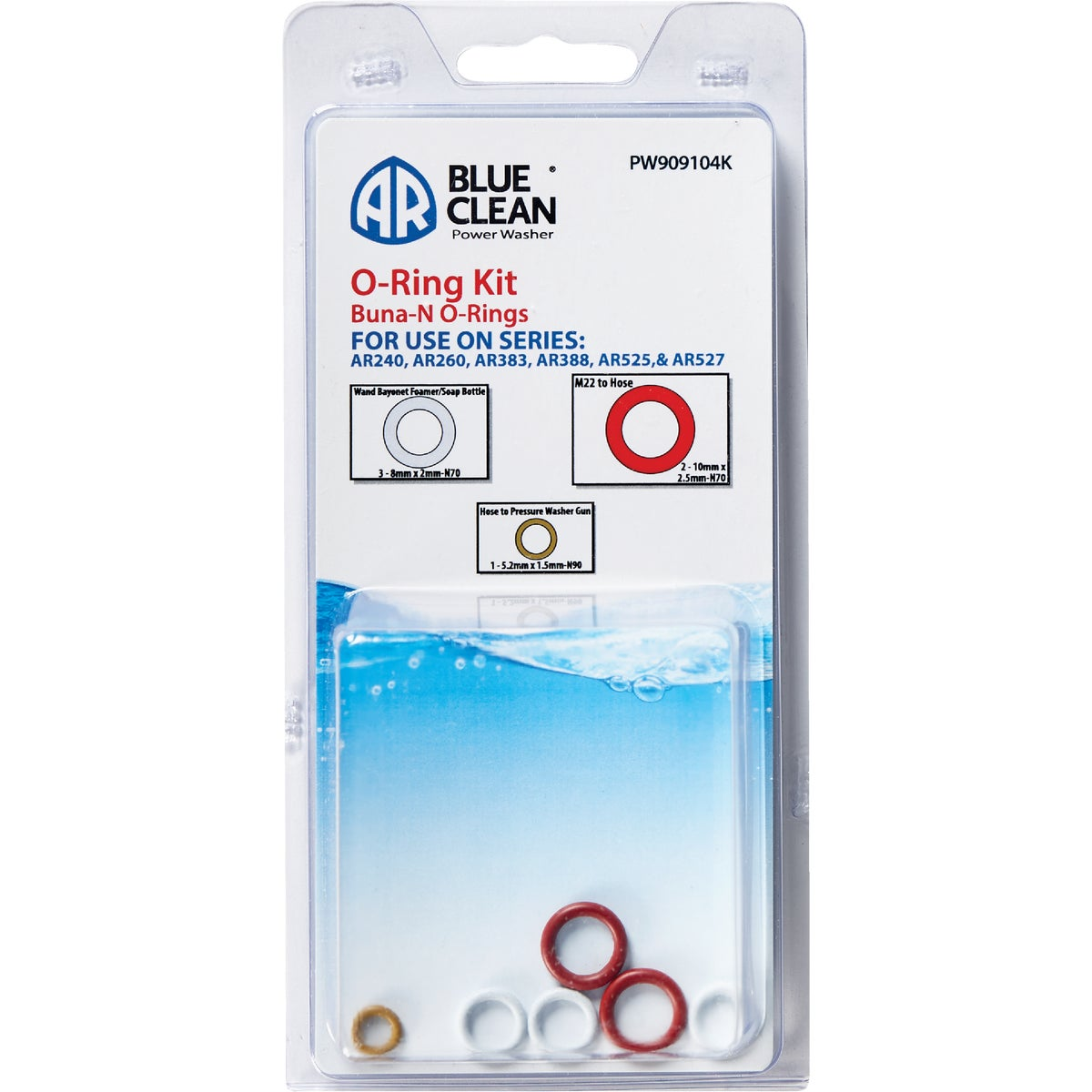 O-RING KIT - AR909104 by Ar Blue Clean