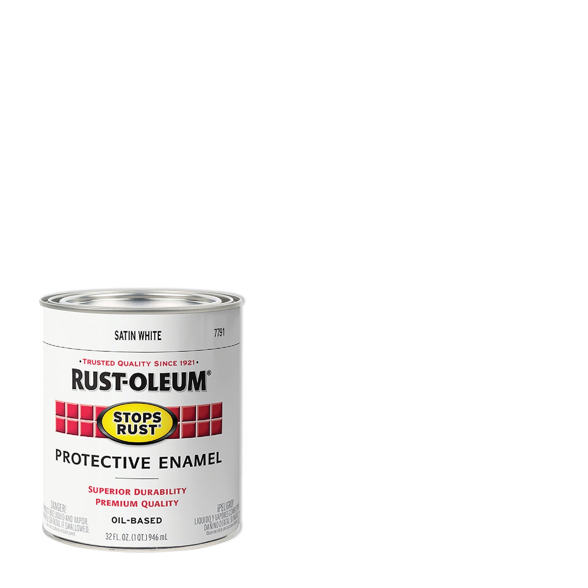 SATIN WHITE ENAMEL - 7791502 by Rustoleum