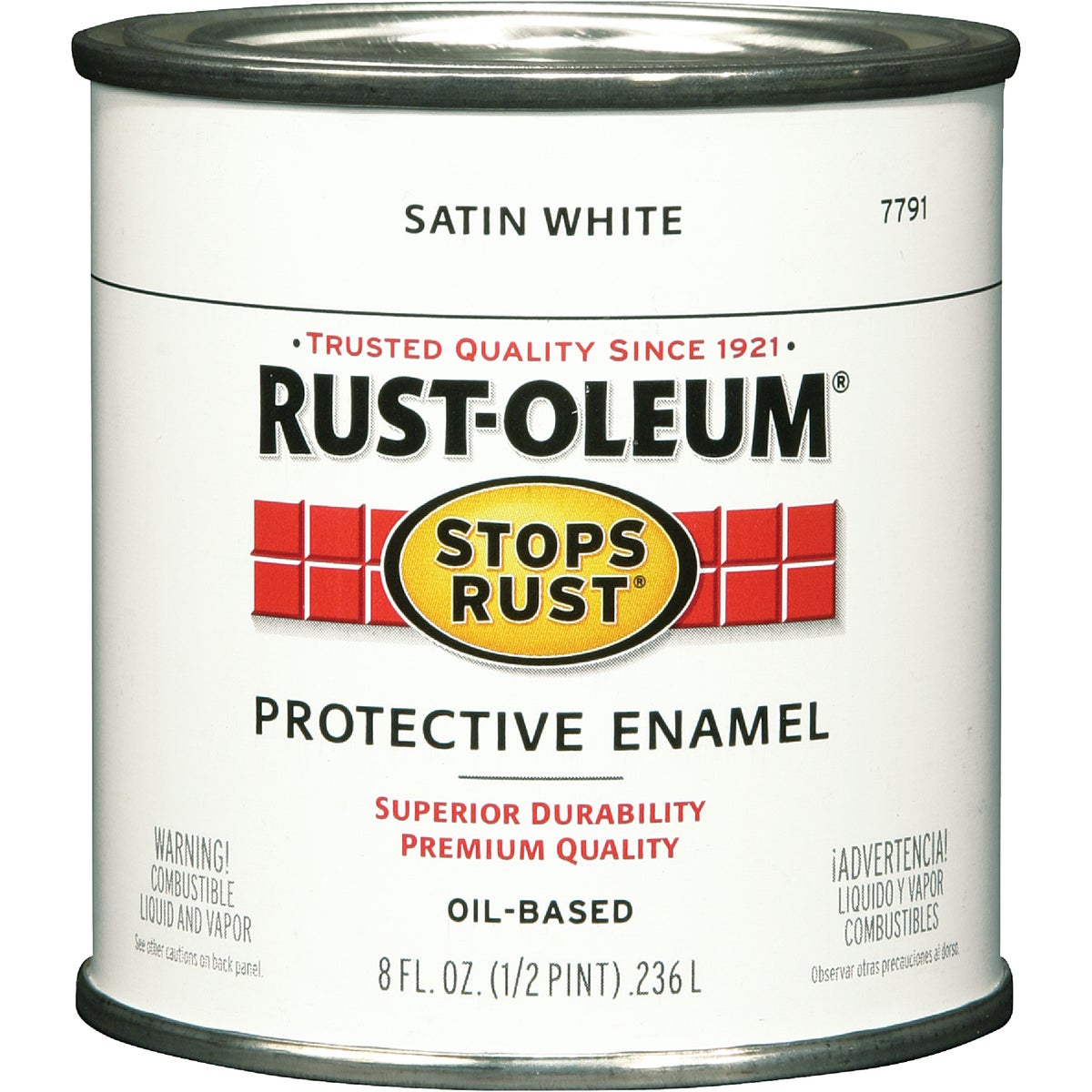 SATIN WHITE ENAMEL