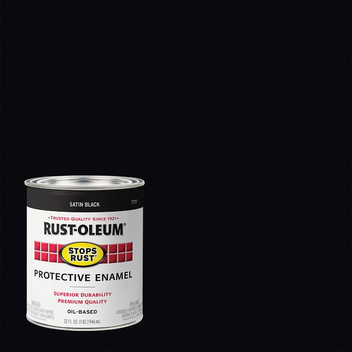 SATIN BLACK ENAMEL