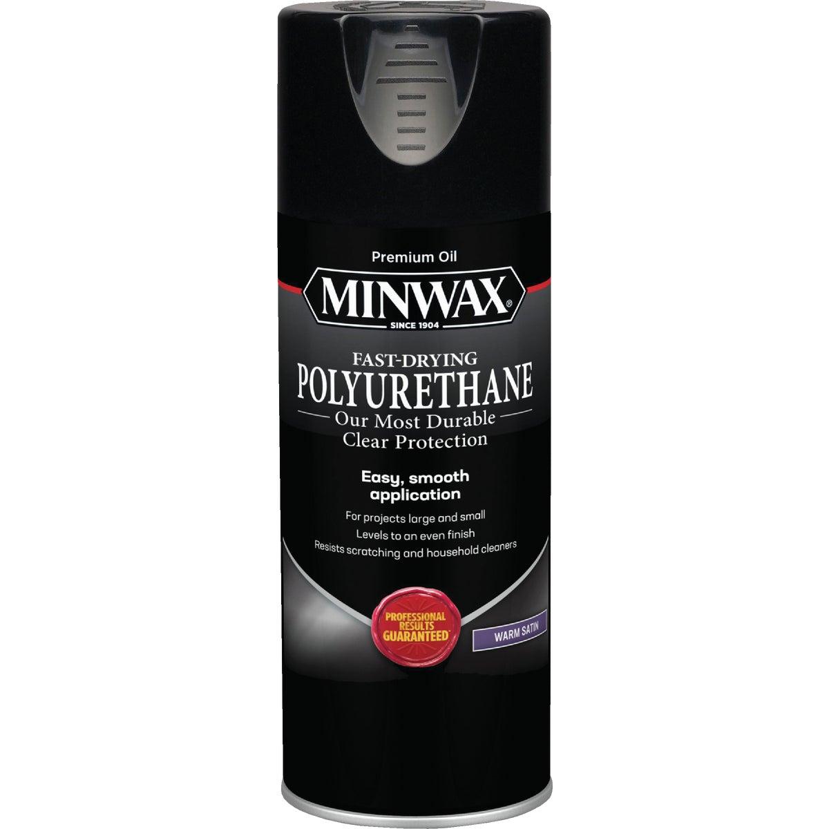 Minwax 33060 Fast-Drying Polyurethane, Satin Finish