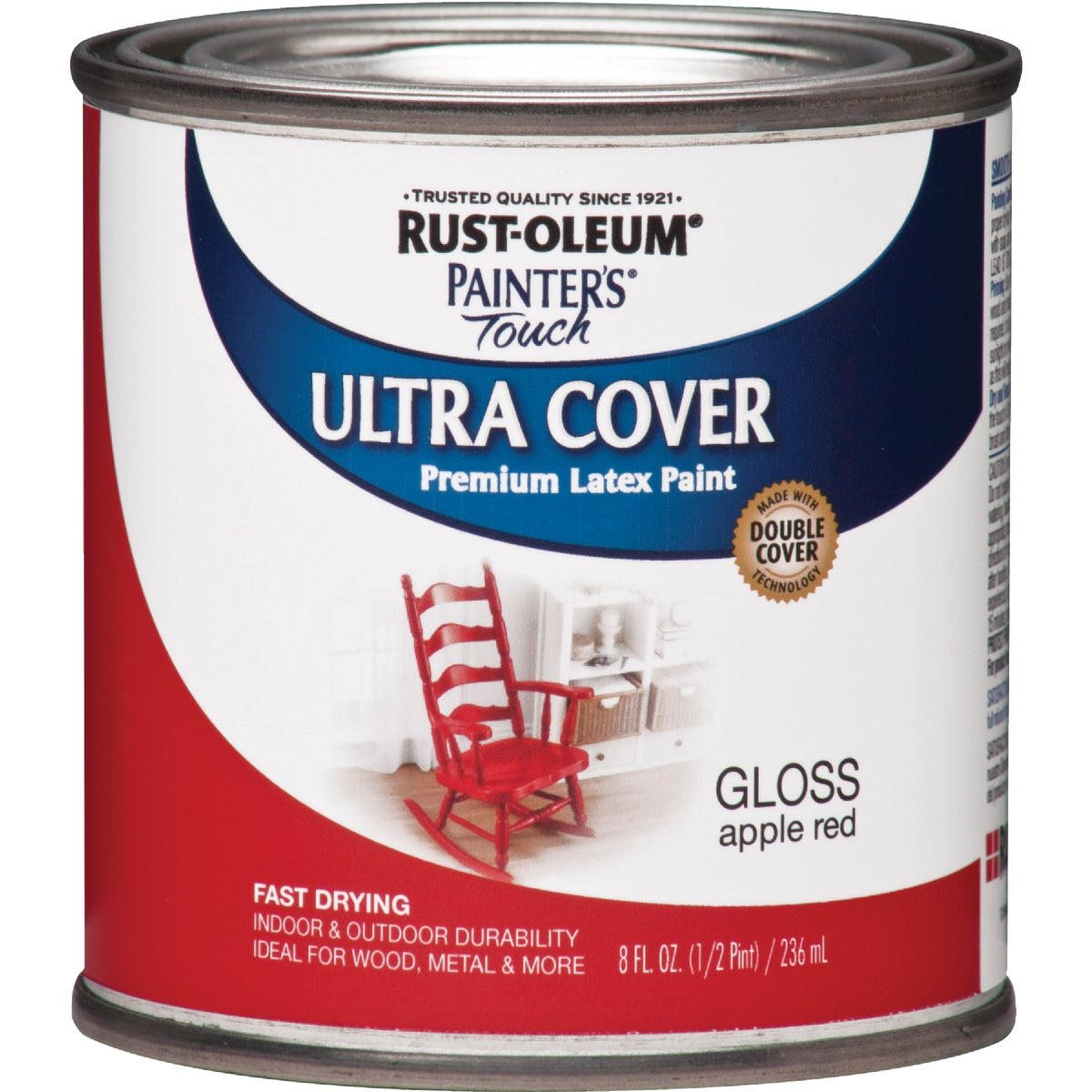 APPLE RED LATEX PAINT - 1966-730 by Rustoleum