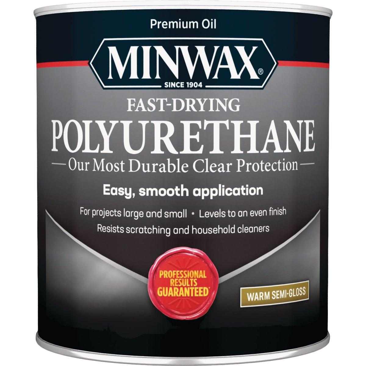 Minwax Polyurethane Semi-Gloss, 1 Qt