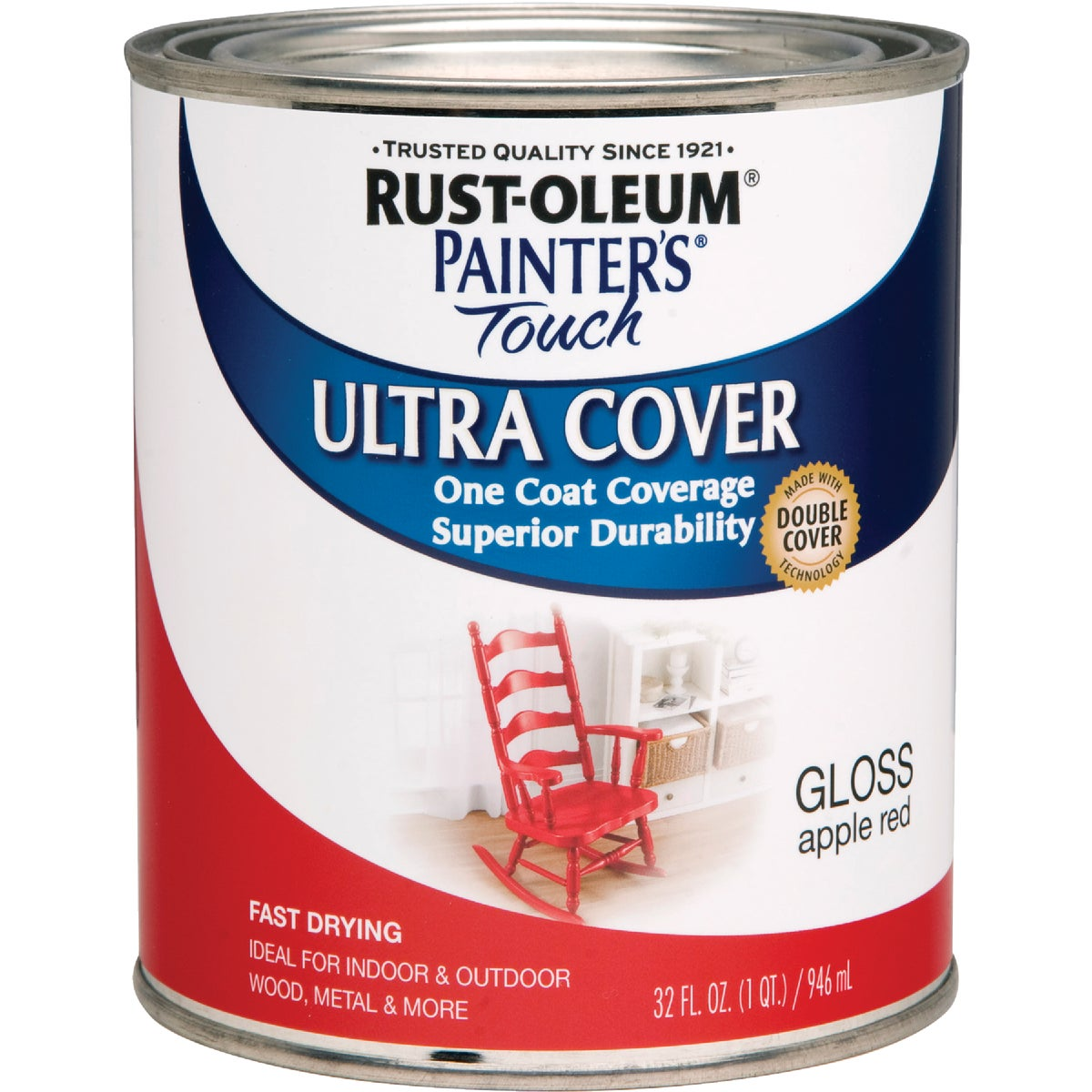APPLE RED LATEX PAINT - 1966-502 by Rustoleum