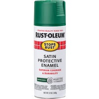 Rust Oleum SAT HNTR GRN SPRAY PAINT 7732-830