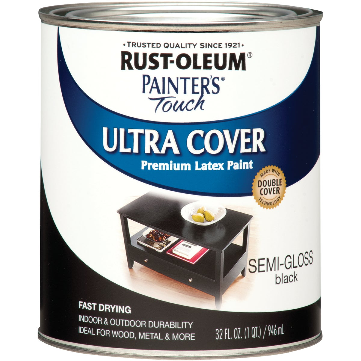 S/G BLACK LATEX PAINT - 1974-502 by Rustoleum