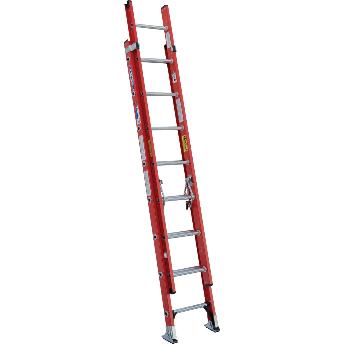 T-1A 16' FBGL EXT LADDER - D6216-2 by Werner Ladder