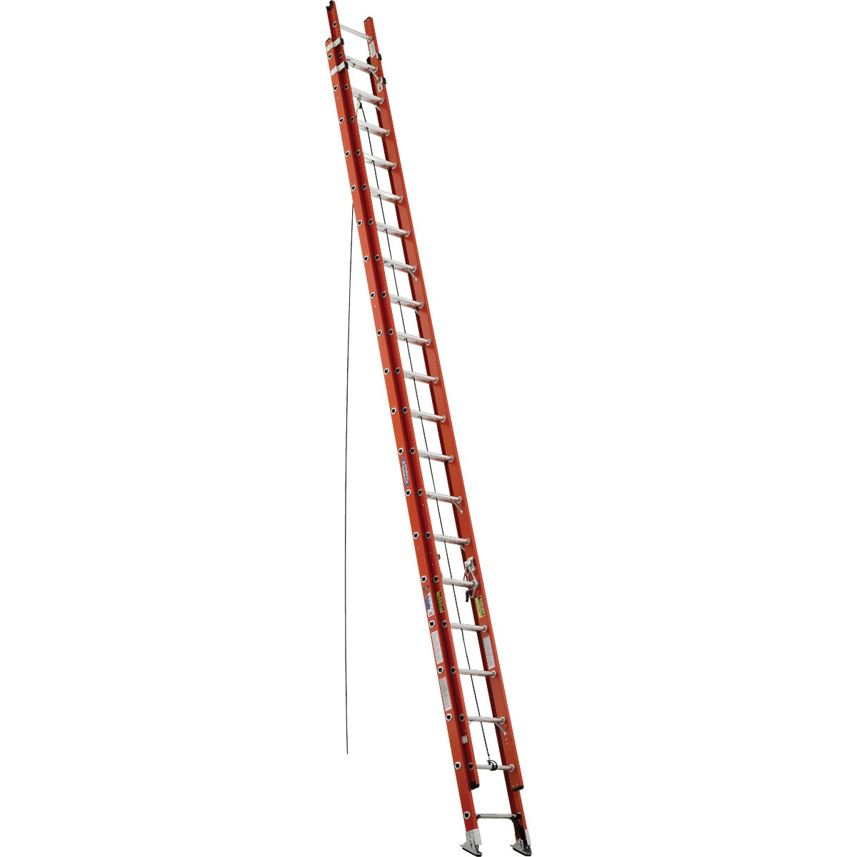 T-1A 40' FBGL EXT LADDER - D6240-2 by Werner Ladder