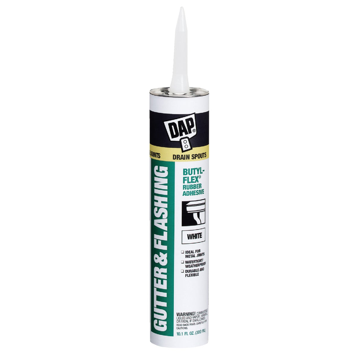 VOC WHITE GUTTER SEALANT - 27062 by Dap Inc