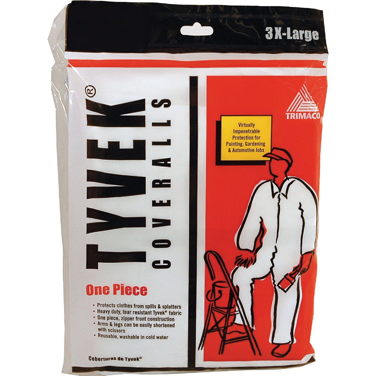 3XL TYVEK COVERALLS - 14125 by Trimaco L L C