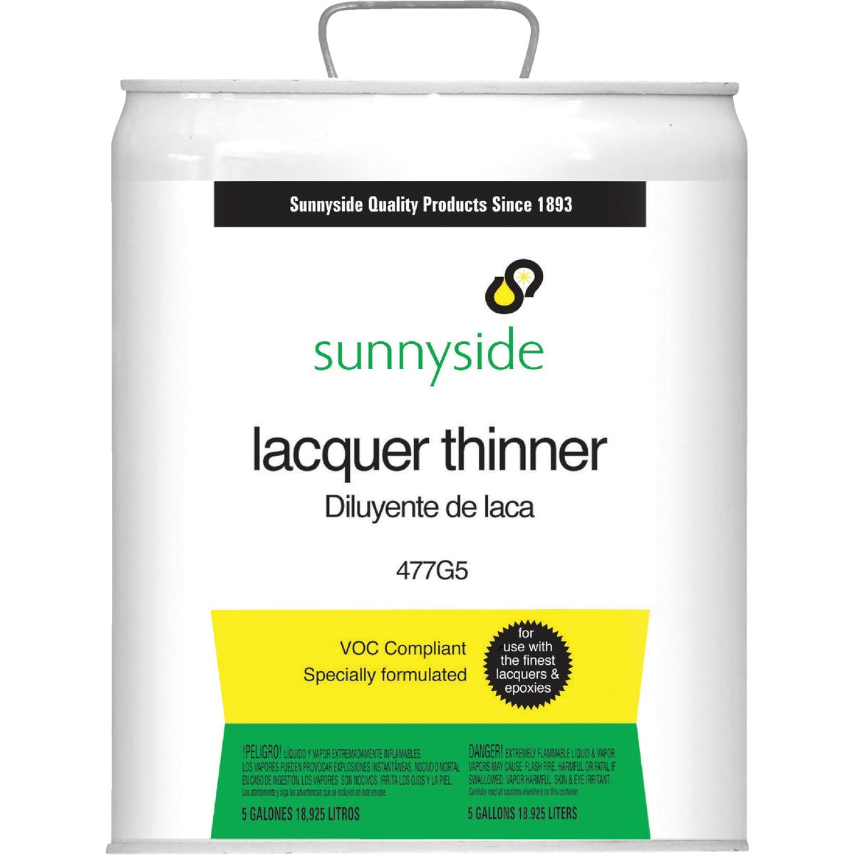 LVOC LACQUER THINNER - 477G5 by Sunnyside Corp