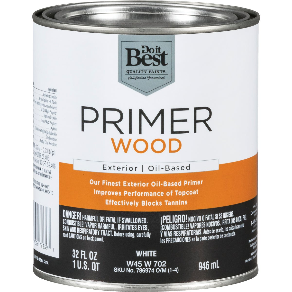 EXT ALKYD WOOD PRIMER - W45W00702-44 by Do it Best