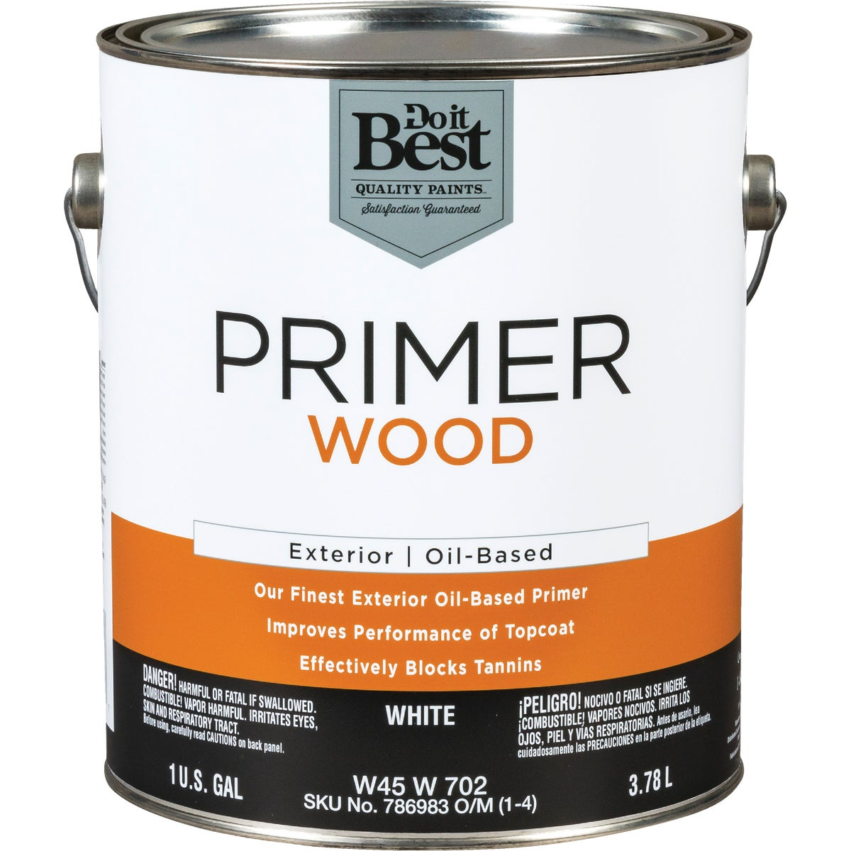 EXT ALKYD WOOD PRIMER - W45W00702-16 by Do it Best
