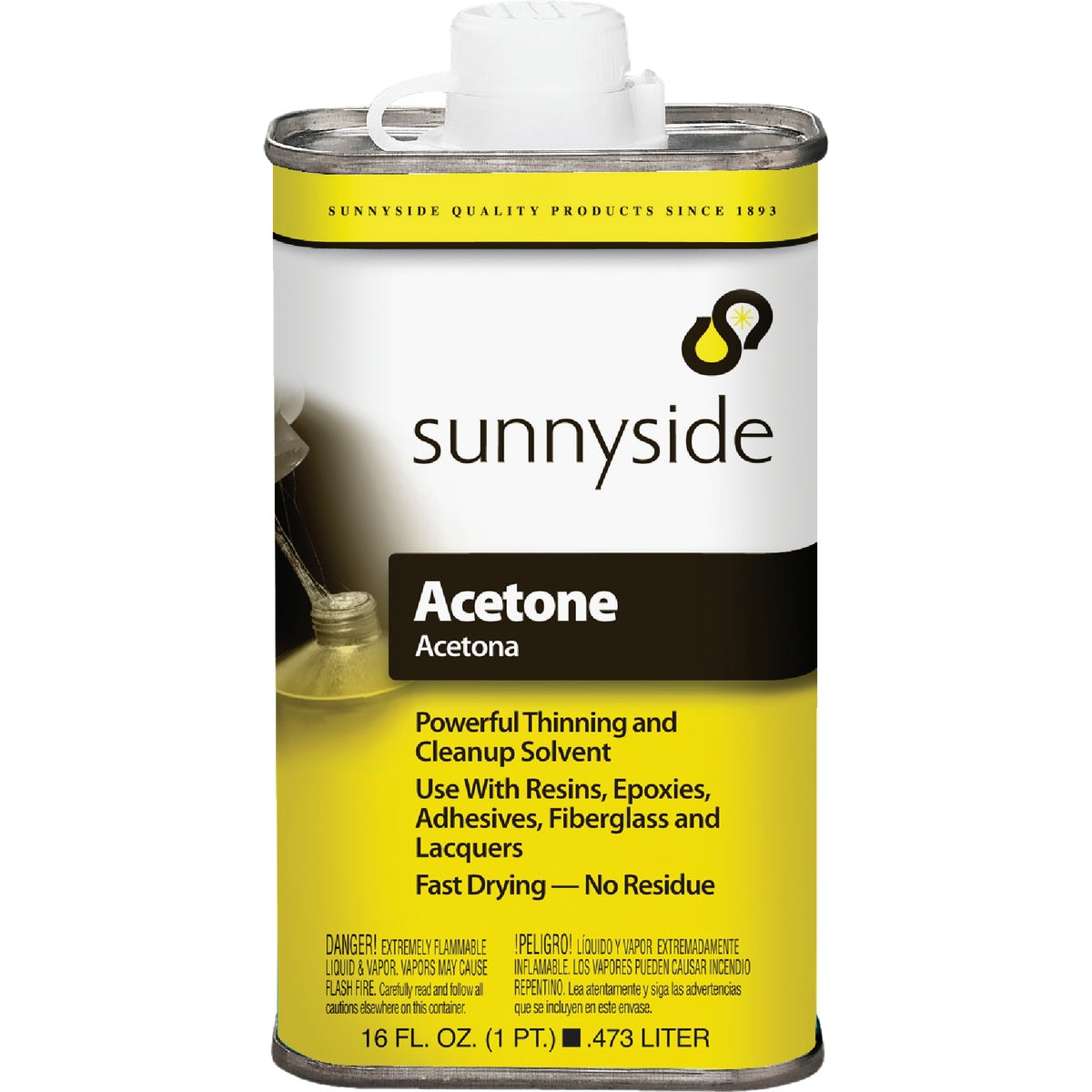 PINT ACETONE - 84016 by Sunnyside Corp