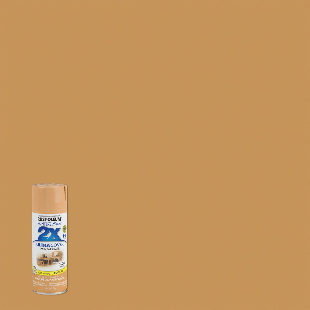 GLOSS KHAKI SPRAY PAINT - 249103 by Rustoleum