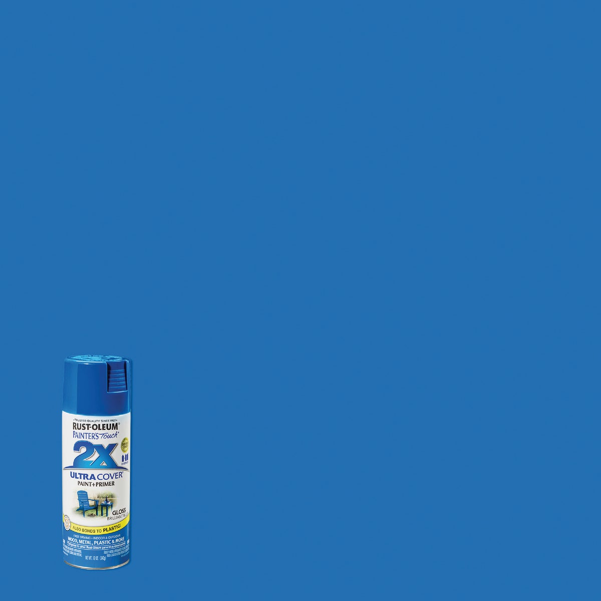 BRLIANT BLUE SPRAY PAINT - 249120 by Rustoleum