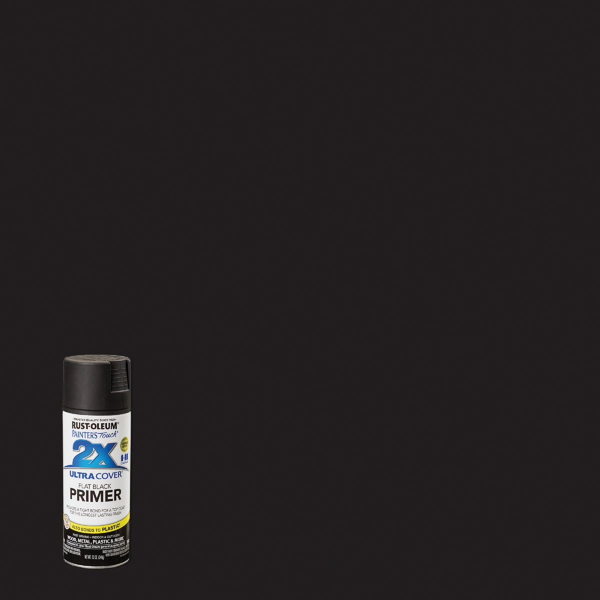 FLAT BLACK PRIMER - 249846 by Rustoleum