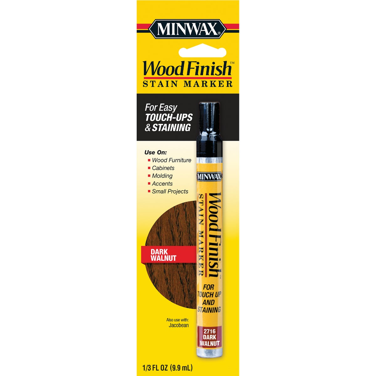 DARK WALNUT STAIN MARKER