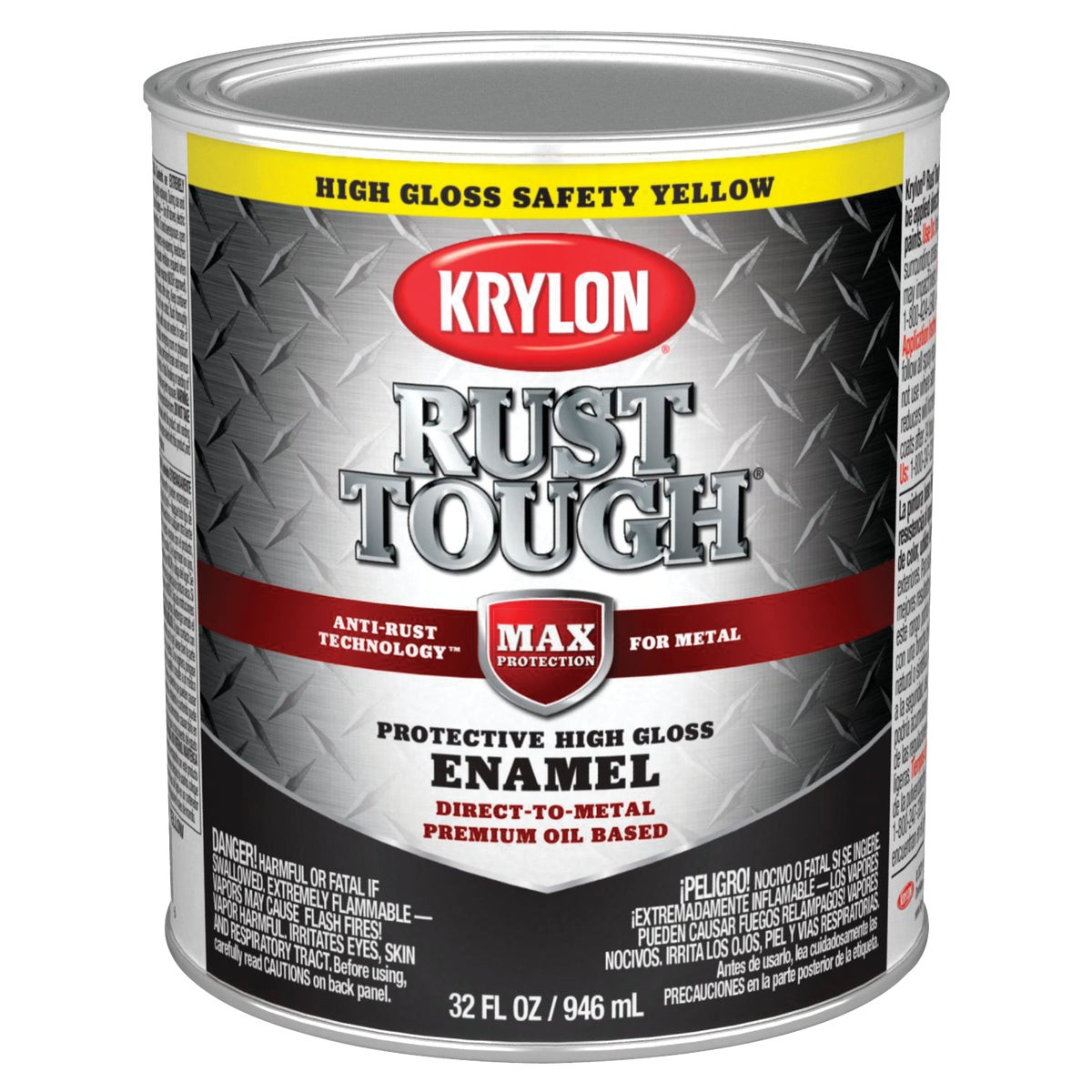 SAFE YELLOW RUST ENAMEL - 044.0021845.005 by Valspar Corp